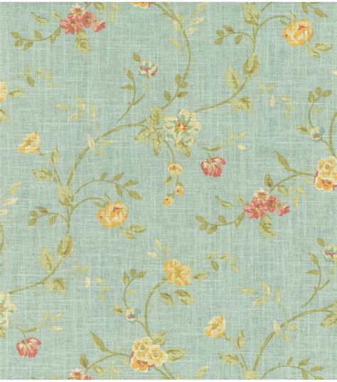home dec print fabric waverly garden glitz cir vapor jo ann