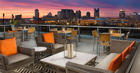 top bars in nashville best rooftop bars in nashville tennessee thrillist