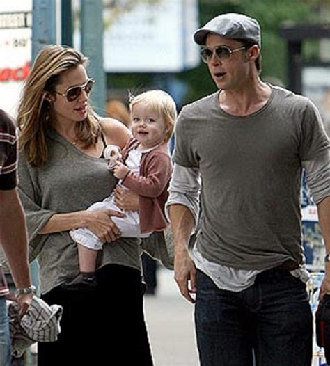 Brad Pitt And Shiloh The Most Beautiful Picture by Brad Pitt And To Reunite Thanks To Shiloh