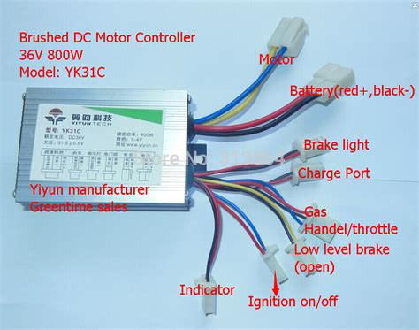 electric bike controller 36v wiring diagram electrical
