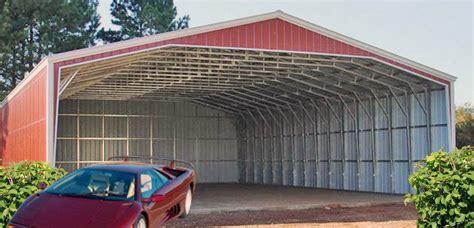 Closed Carport Carports Aluminum Steel Buildings Product View