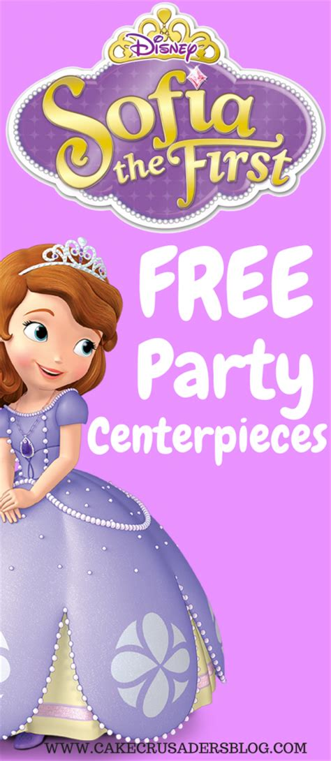 sofia the centerpiece how to make sofia the birthday centerpieces