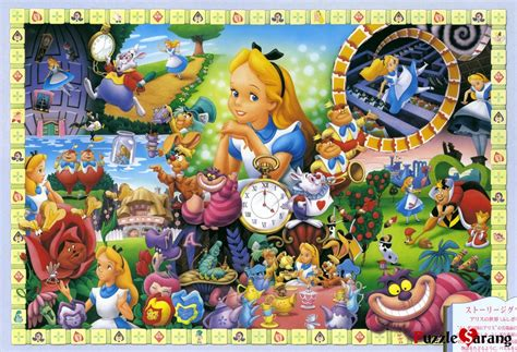 disney printable jigsaw puzzles alice in wonderland images disney model kit jigsaw