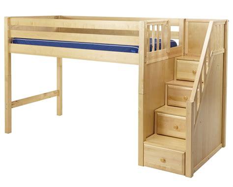 designs  beds adult loft beds  stairs queen loft