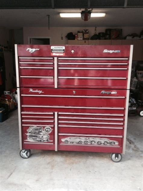 snap on tool storage cabinets snap on mustang edition tool box my dream tool box