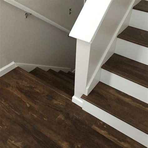 luxury vinyl plank on stairs luxury vinyl plank vinyl tile pinterest vinyl planks