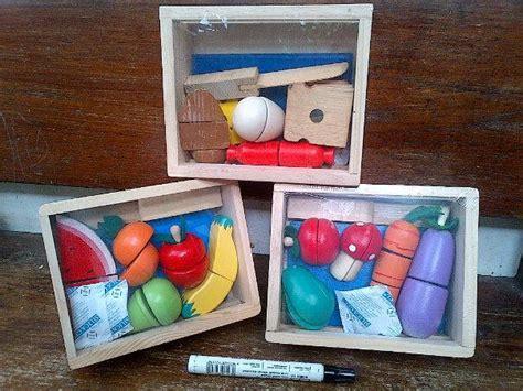 Mainan Kayu Roti Potong jual mainan edukatif mainan balok kayu potong sayur