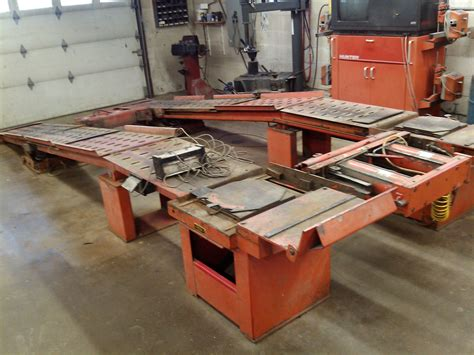 Used Alignment Rack by New Used