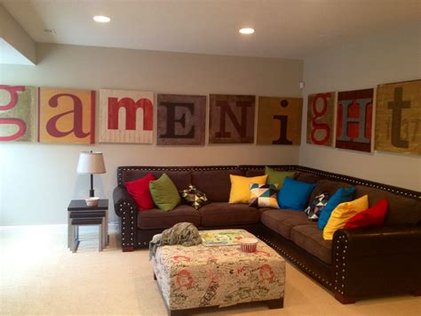 game home decor decorating game room ideas for basement fun family decor
