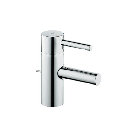 single hole faucets bathroom shop grohe essence chrome 1 handle single hole watersense