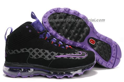 ken griffey jr shoes nike air max jr womens black purple ken griffey jr shoes
