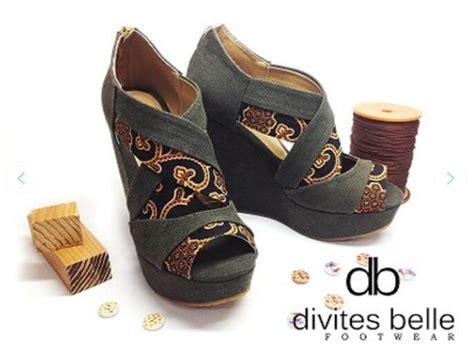 Dayak Hitam Sepatu Batik Handmade wow 19 sepatu handmade yang tak kalah keren dari produk