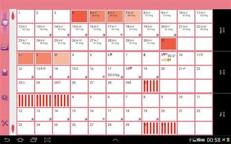 Calendario M App Womanlog Calendar Android Apps On Play