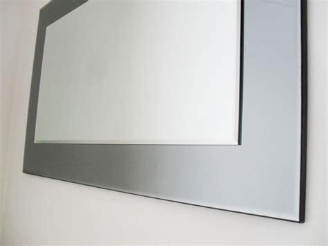Bedroom Mirrors Lewis Lewis Marietta Wall Mirror 100x61cm Grey Smoked Glass
