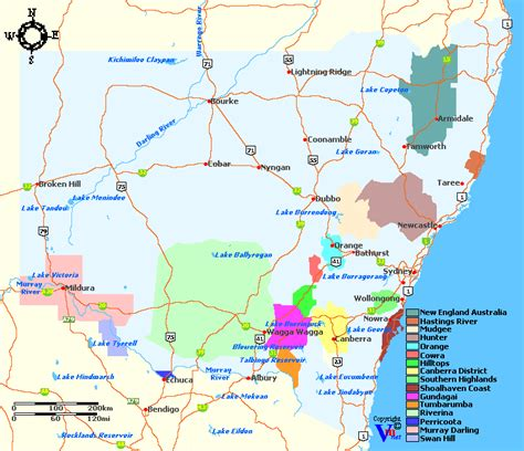 Search Australia Nsw New South Wales Wine Regions