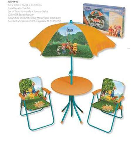 Table Winnie L Ourson Et Chaise by Set Chaises Table Parasol Winnie L Ourson Boutique Des