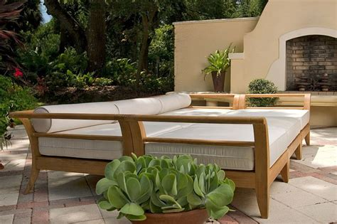 Outdoor Furniture Daybed Teak Seating Daybed Westminster Teak Outdoor Furniture