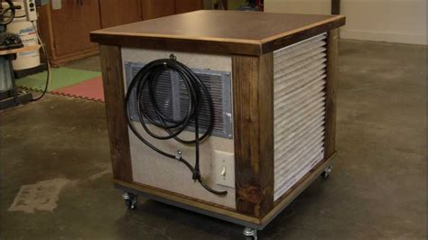 woodworking air filtration diy simple woodshop air filtration system