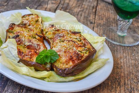 cucinare le zucchine in padella melanzane ripiene di zucchine e carne in padella