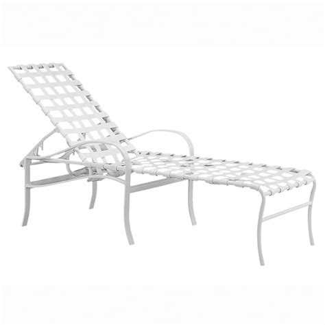strap chaise lounge chairs palladian strap chaise lounge