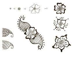 Modèle Dessin Henné Facile r 233 sultat de recherche d images pour quot dessin au henn 233