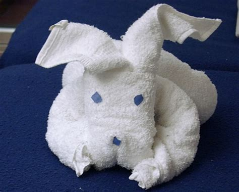 Origami Towel Animals - towel animal origami origami and craft