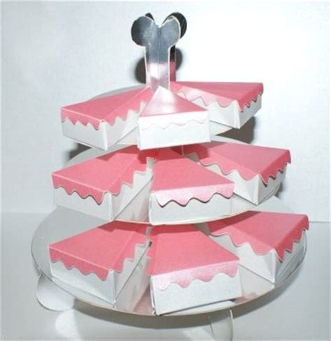 card cake stand template cake slices and stand template