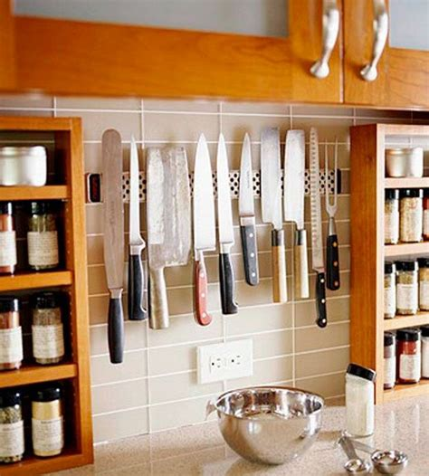 best way to store kitchen knives clever ideas for storing your kitchen knives the owner builder network