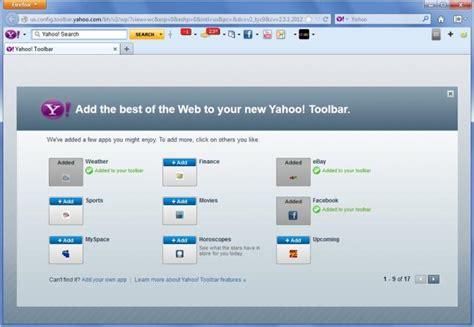 yahoo toolbar view yahoo toolbar screenshot