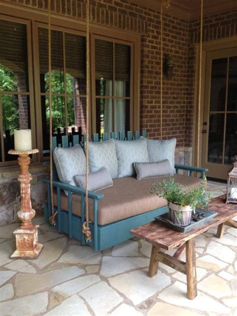 unique outdoor swings unique porch swing porches pinterest