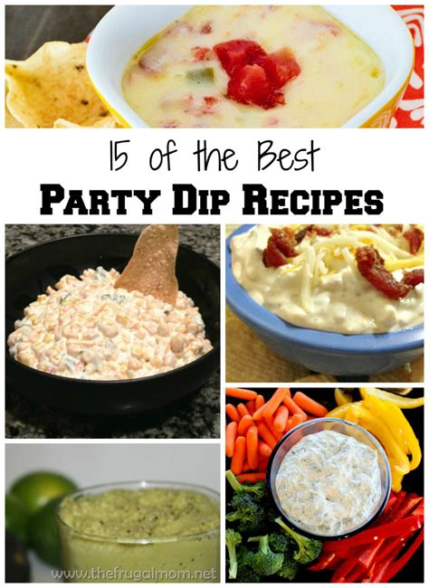 15 of the best party dip recipes