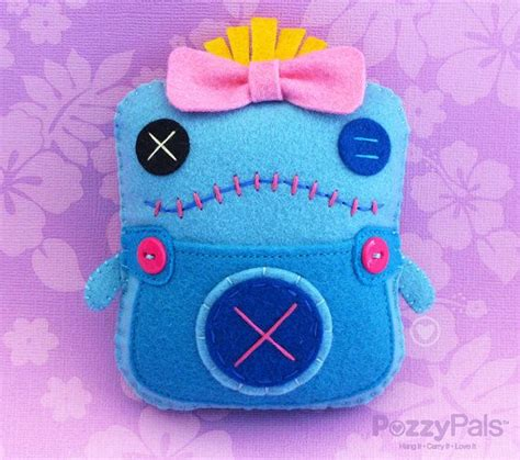 stitches manualidades stitched pp handmade plush scrump lilo stitch por