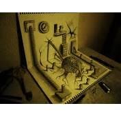 25 Stunning 3D Optical Illusion Drawings  Top Design Magazine Web