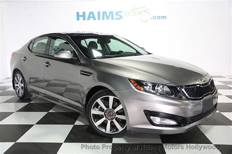 Kia Used by 2013 Used Kia Optima Sx T Gdi At Haims Motors Ft