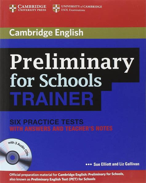 pdf libro de texto cambridge english movers 1 for revised exam from 2018 students book authentic examination papers cambridge young learners engli para leer ahora cambridge english preliminary for schools trainer six practice tests with answers english