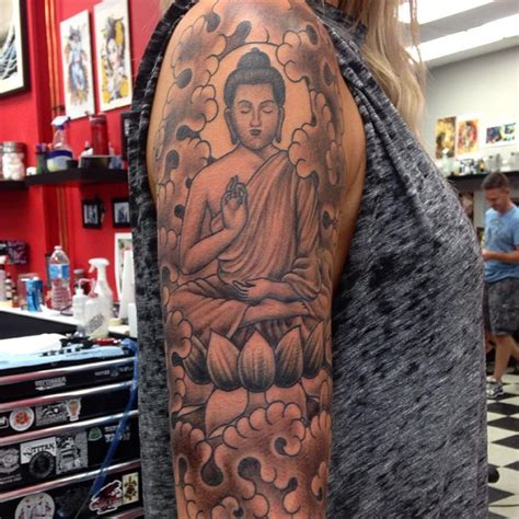 skinny buddha tattoo 60 meaningful buddha designs for buddhist and not only