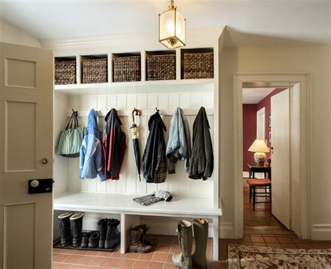 Designers Kitchens coats and cubbies farmhouse entry new york by