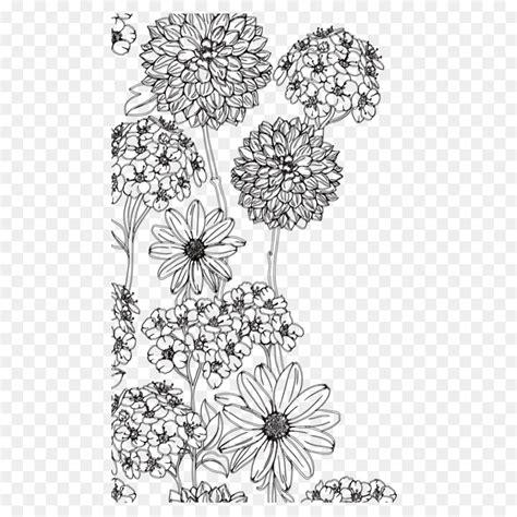 terbaru  gambar lukisan bunga hitam putih bari gambar