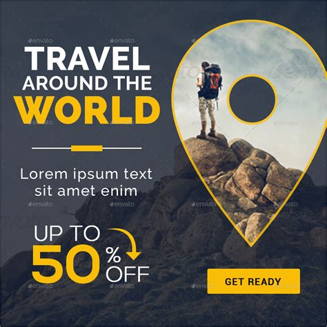 Design Banner Tour | tours travel banners by doto graphicriver