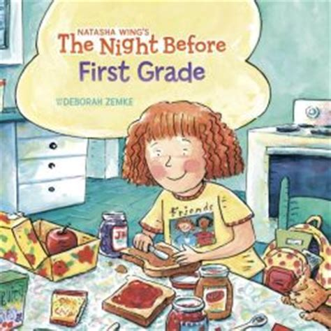 1st grade picture books the before grade by wing