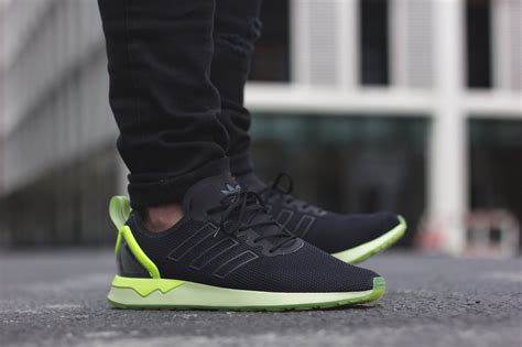 adidas zx flux adv neon hits appear on the adidas originals zx flux adv