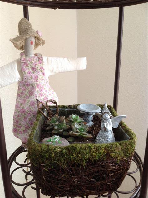 make an indoor fairy garden caregivers activity source