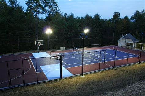 outdoor basketball courts with lights outdoor basketball courts flooring backyard