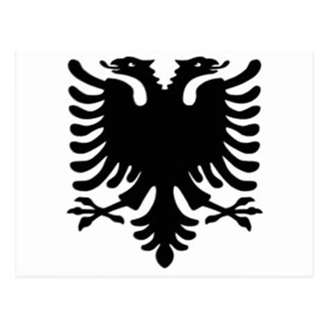 albanischer adler albanischer adler karten zazzle de