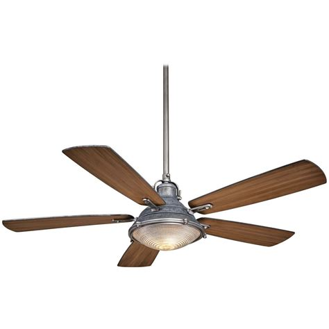 56 Inch Ceiling Fan With Light by 56 Inch Minka Aire Groton Weathered Aluminum Ceiling Fan