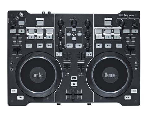 best dj audio interface hercules dj 4set dj audio interface controller pssl
