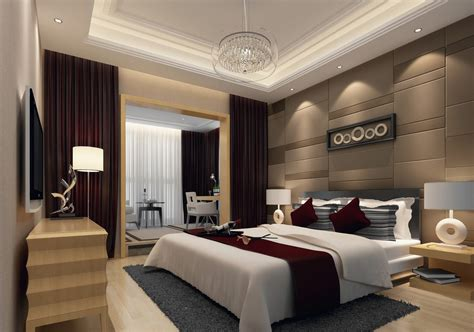 Design master bedroom with balcony   Download 3D House