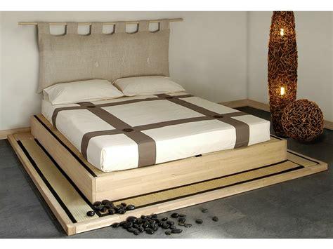 letto matrimoniale rialzato letto matrimoniale tatami in legno isola by cinius design
