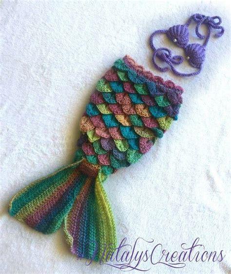 mermaid mermaids and crochet on