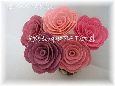 diy tiara di fiori makeup felt flower tutorial wool felt bouquet tutorial ebook